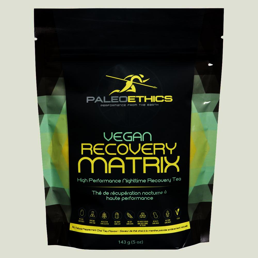 Paleoethics Vegan Recovery Matrix Nighttime Tea