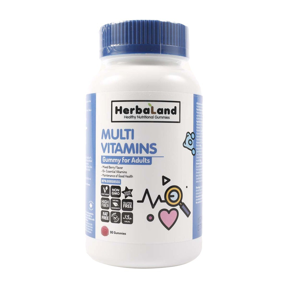 Multi vitamins gummy for adults mixed berry flavour
