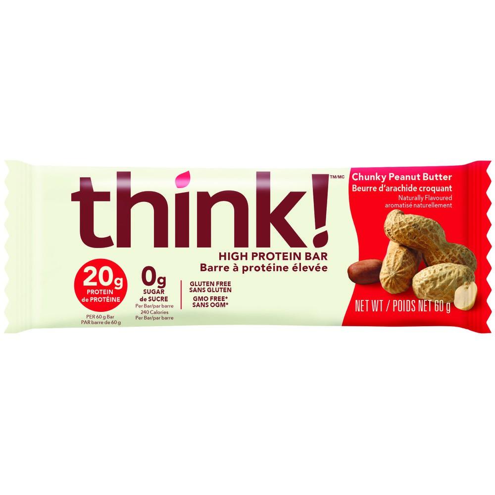 Think! High Protein Bar Crunchy Peanut Butter