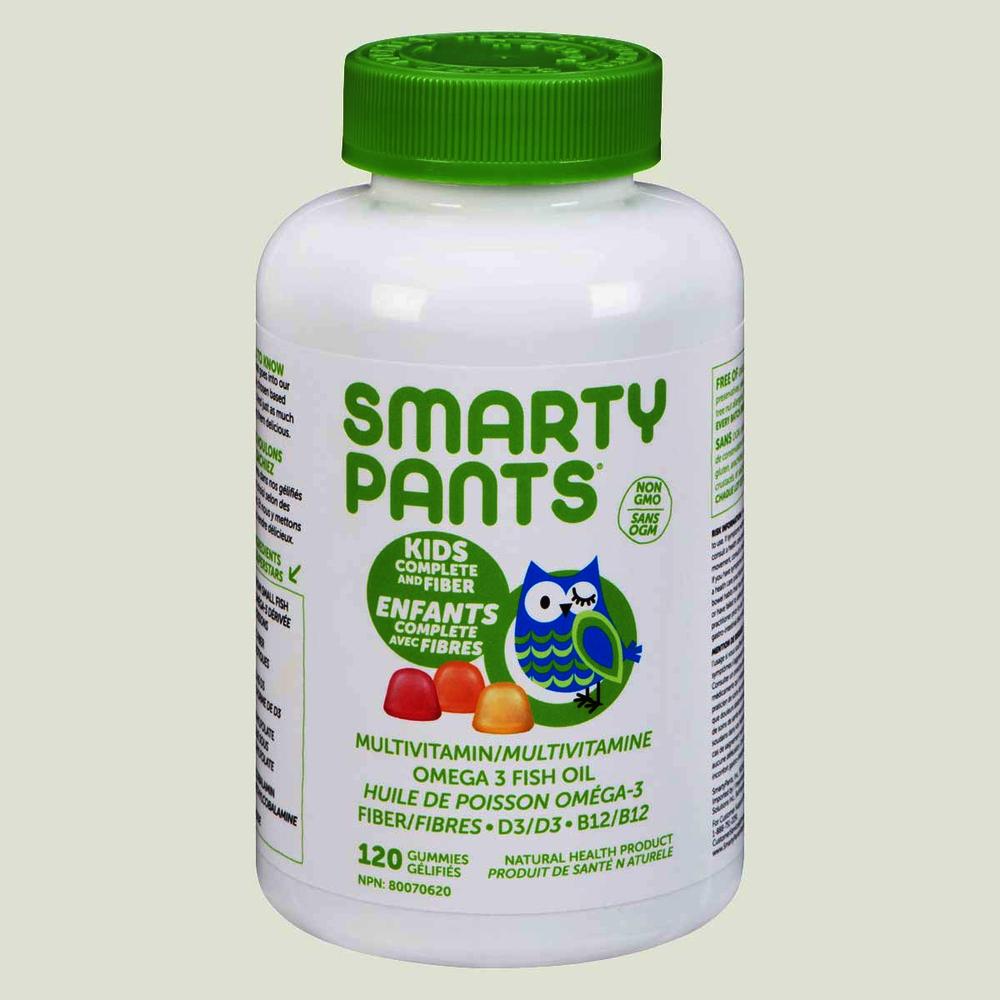 SmartyPants Kids Complete Plus Fiber Gummies