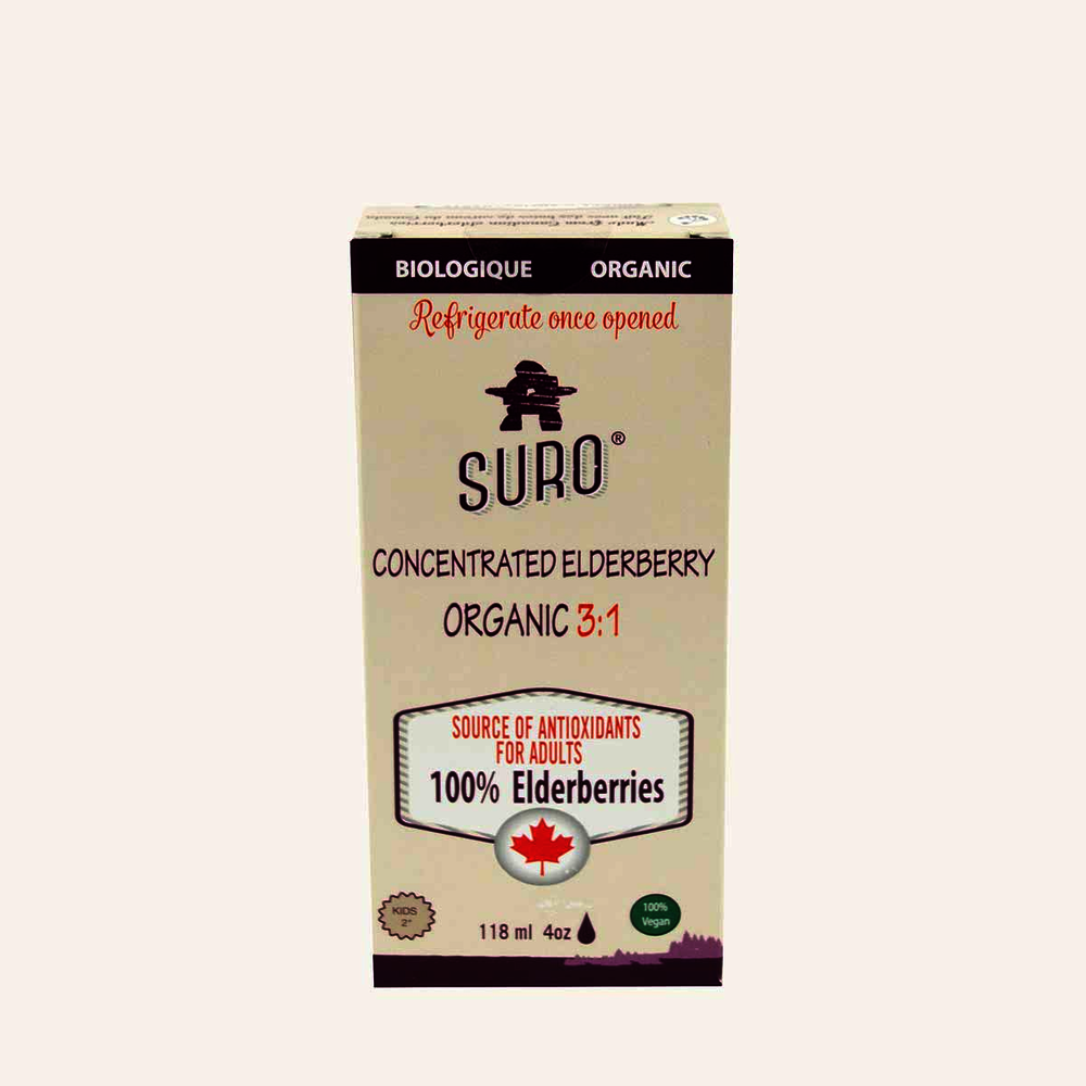 Suro Concentrated Elderberry Organic 3:1