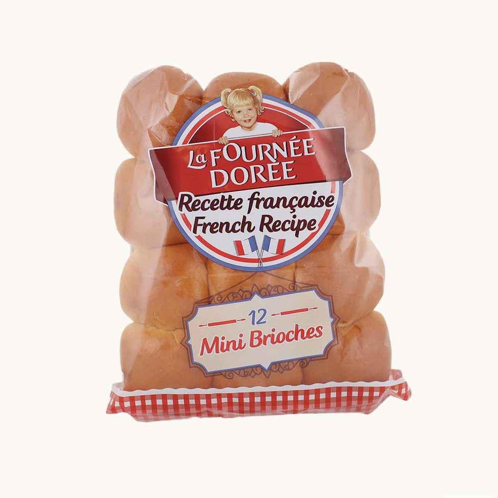 Le Fournee Doree Mini Brioche Buns
