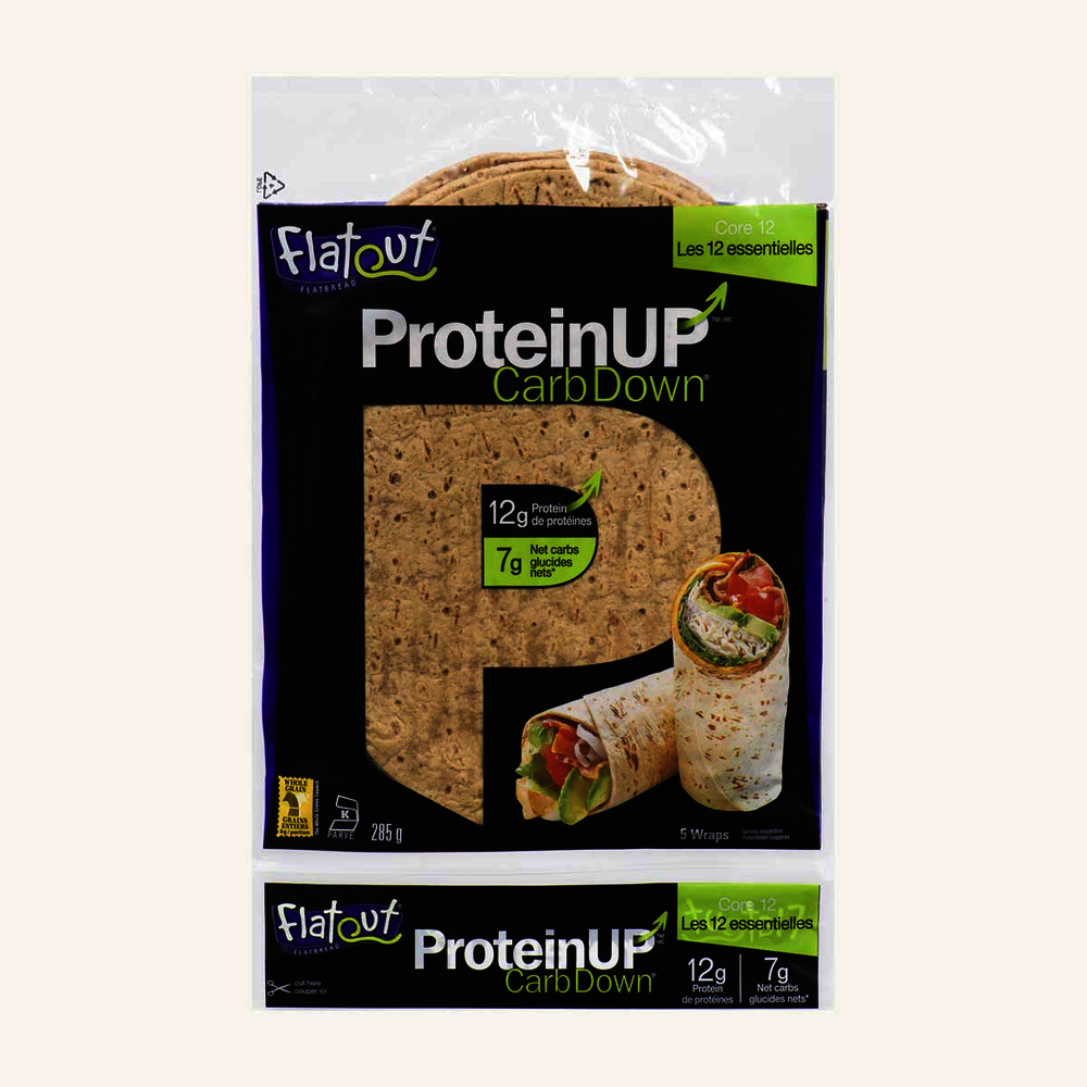 Flatout Protein Up Carb Down