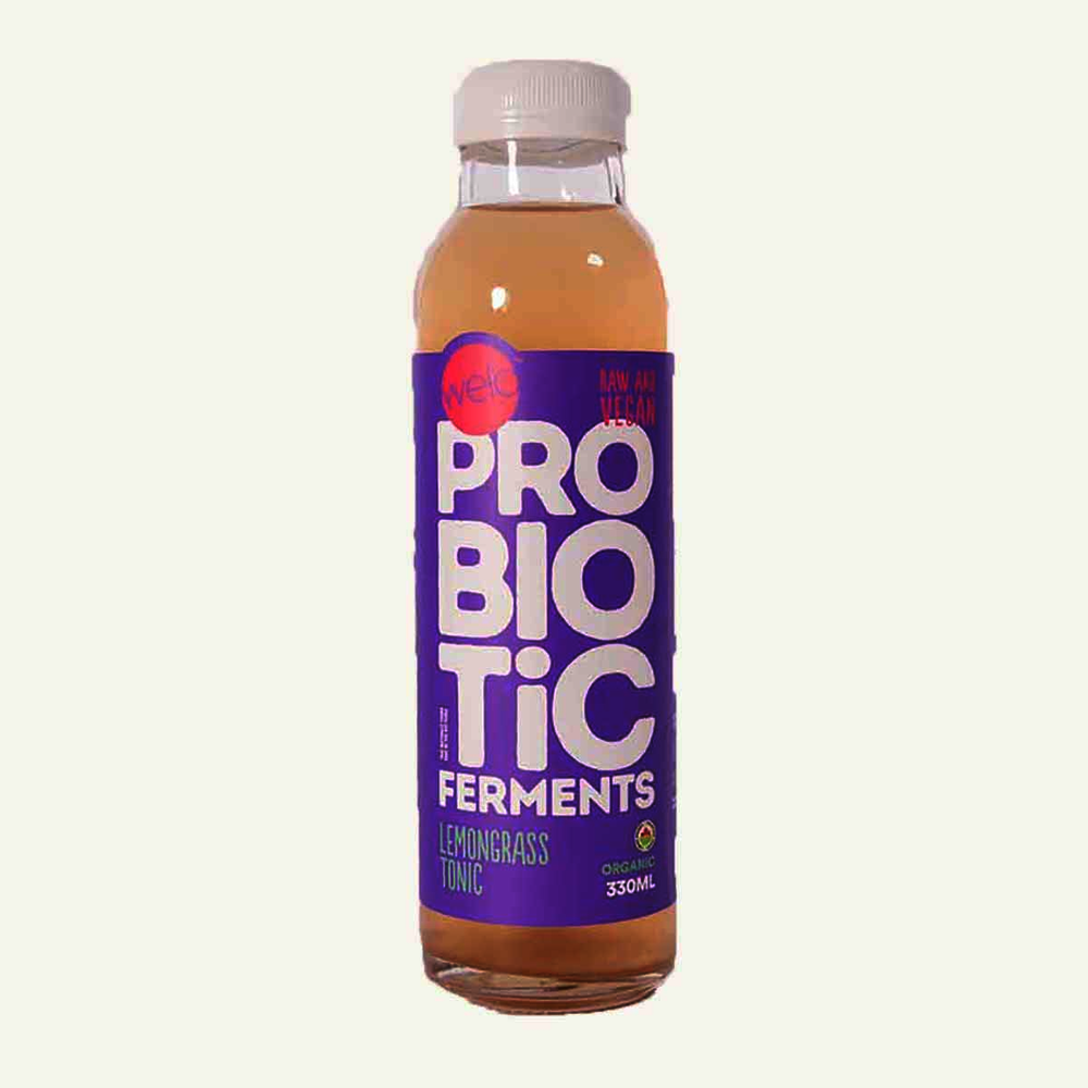 Welo Probiotic Ferments Organic Lemongrass Tonic