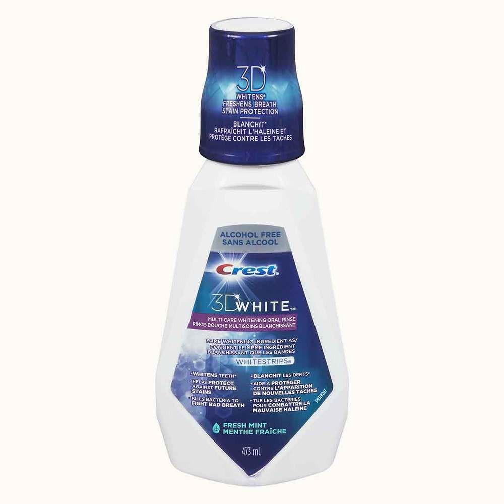 Crest 3D White Multi Care Whitening Rinse Fresh Mint