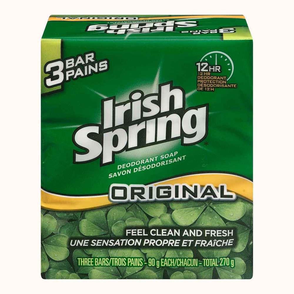 Irish Spring Bar Soap Original