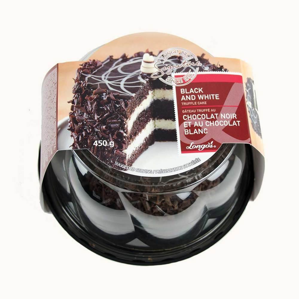 Longo's Black And White Truffle Cake