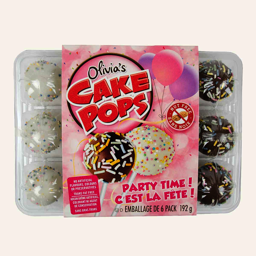 Olivias Cake Pops Party Time