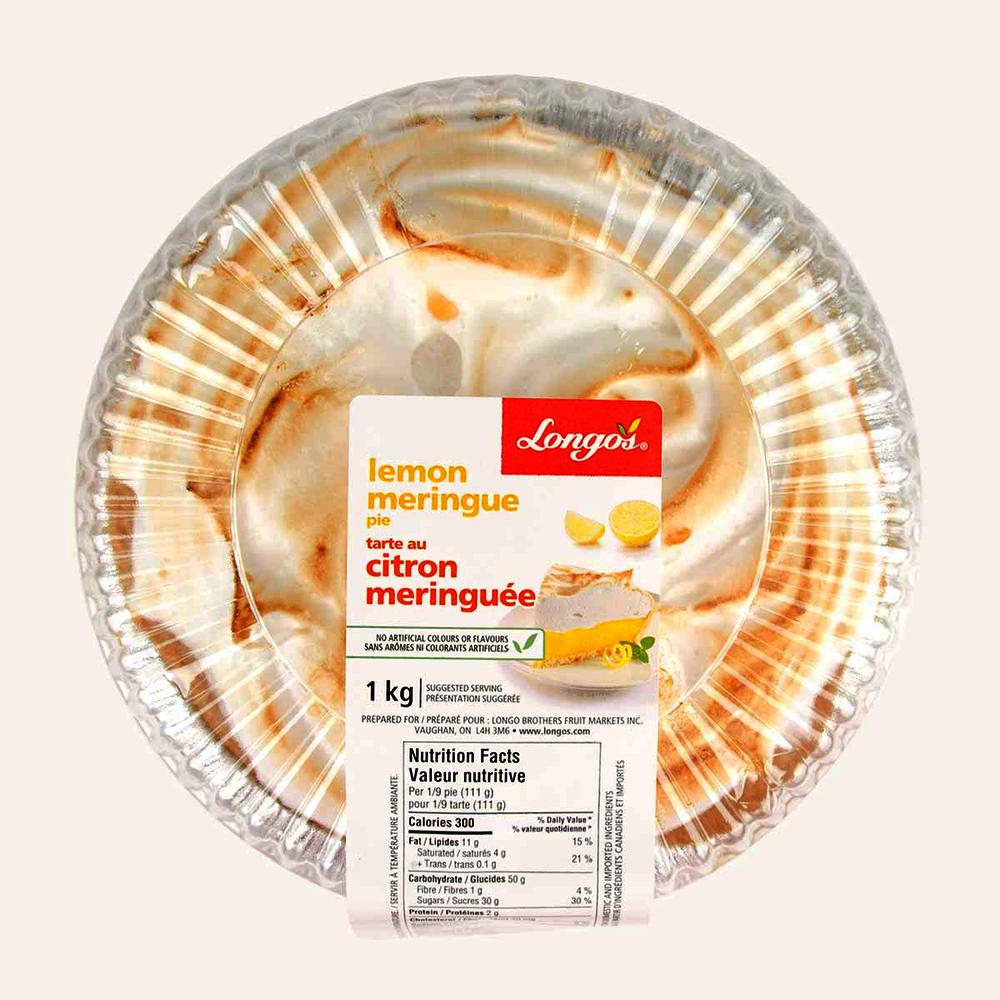 Longo's Lemon Meringue Pie