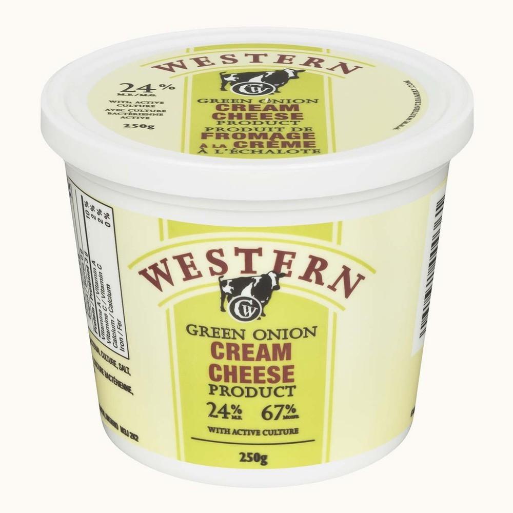 Western Creamery Green Onion Cream Cheese