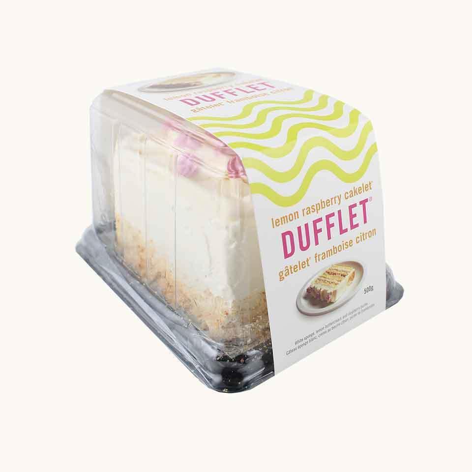 Dufflet Lemon Raspberry Cakelet