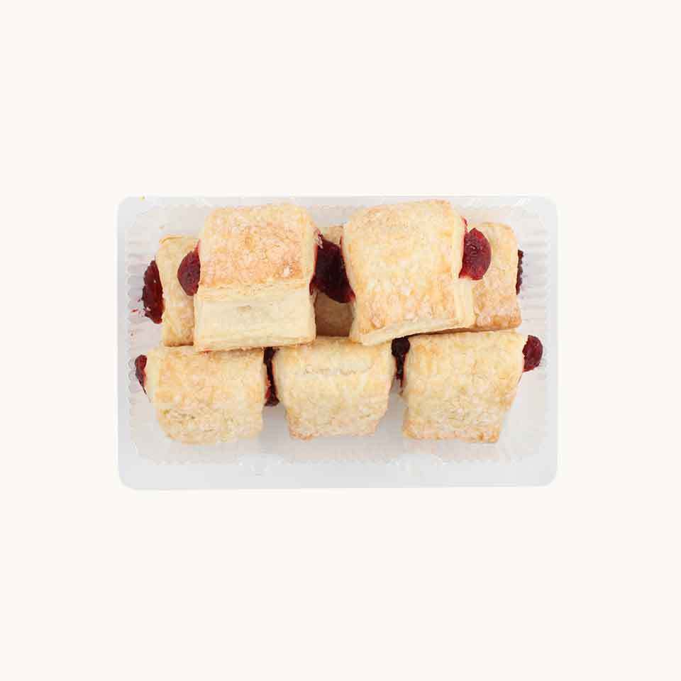 Longo's Mini Raspberry Turnovers