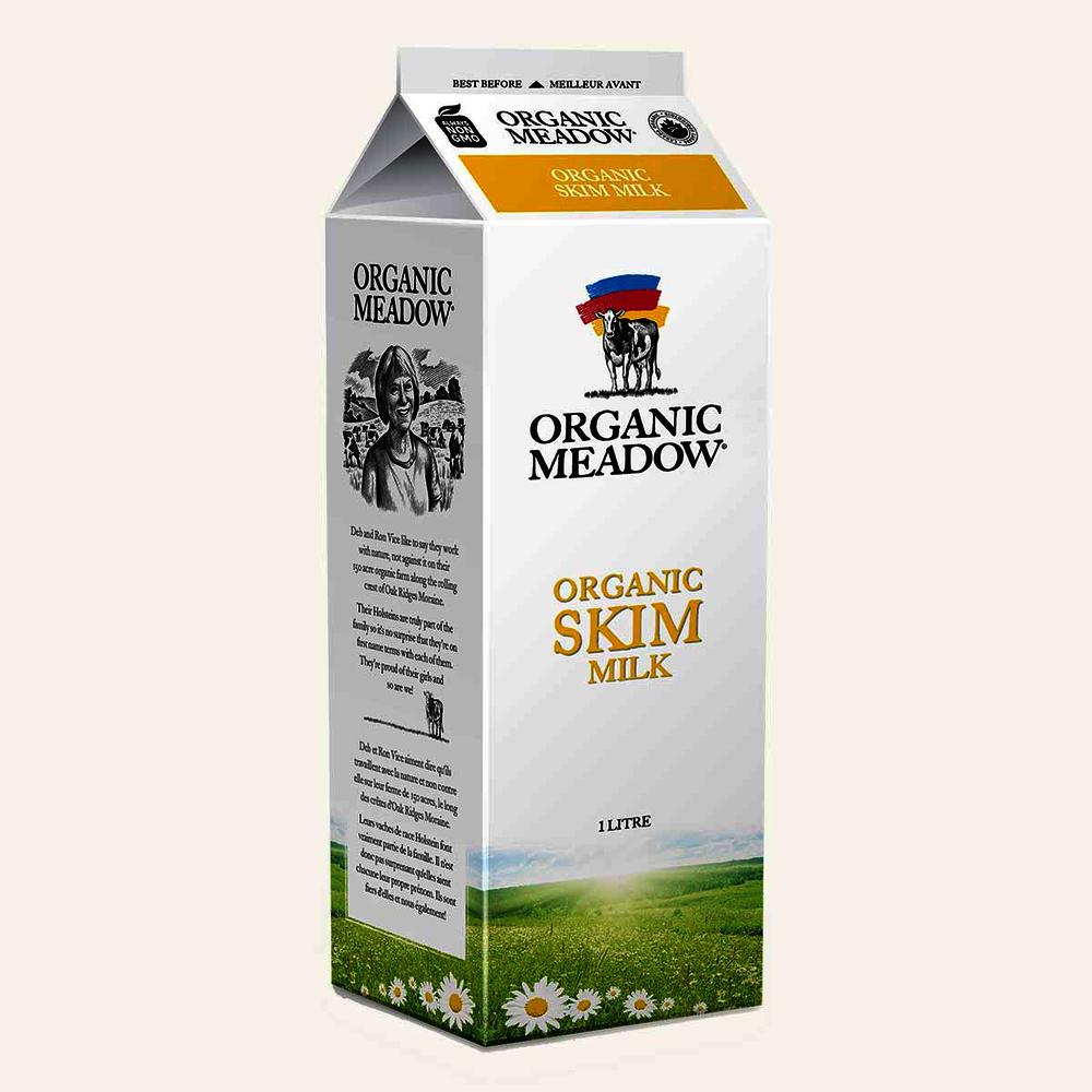 Organic Meadow Skim Milk