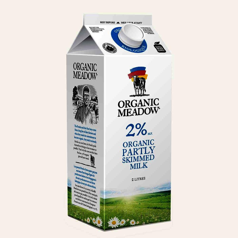 Organic Meadow 2% Milk
