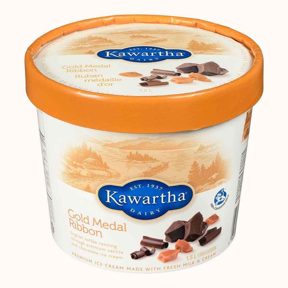 Kawartha Dairy Gold Medal Ribbon Ice Cream