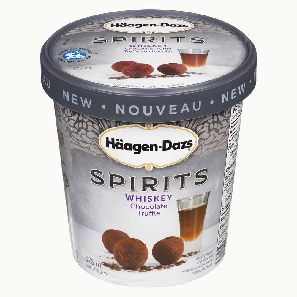 Häagen-Dazs Spirits Whiskey Chocolate Truffle