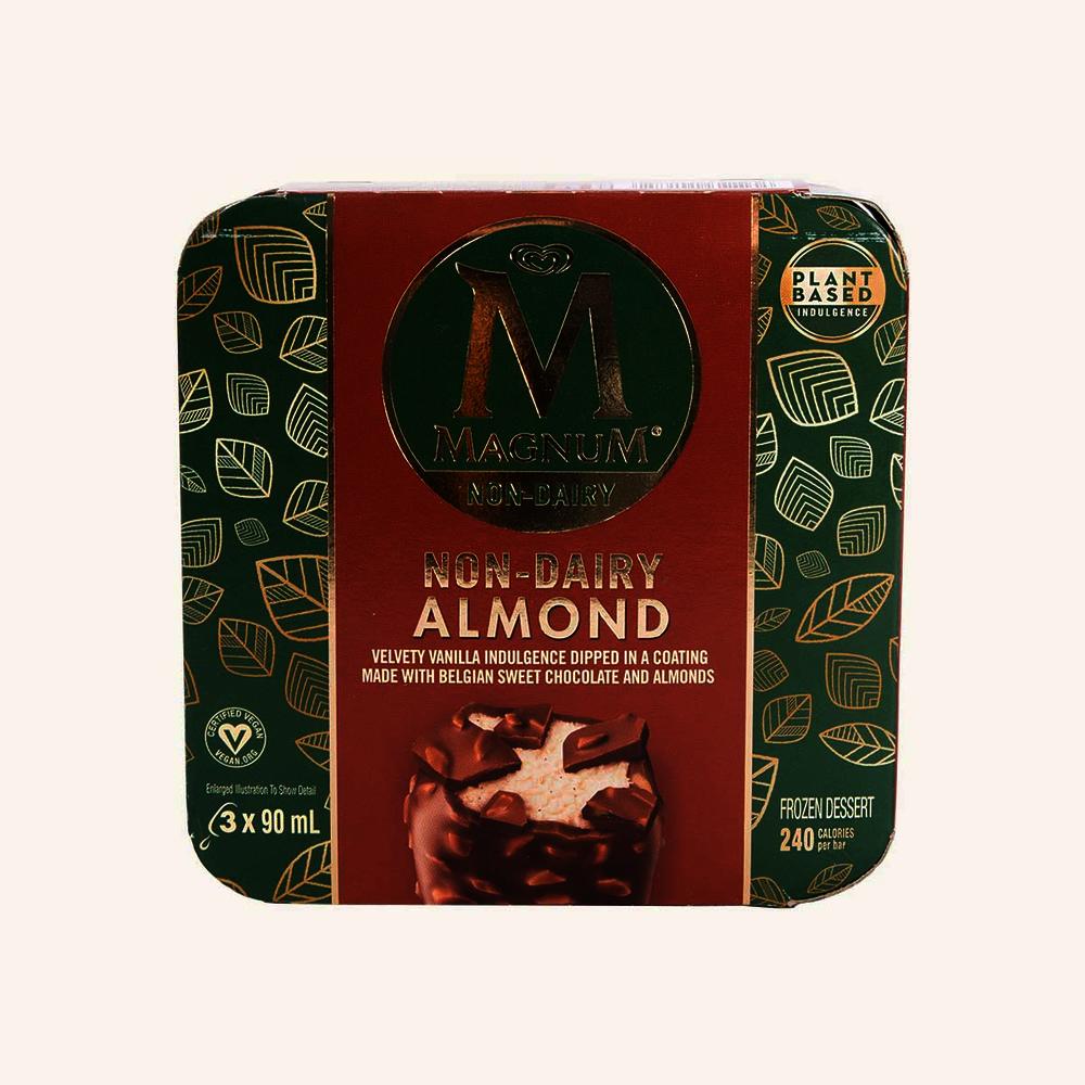 Magnum Non Dairy Almond Frozen Dessert Bars