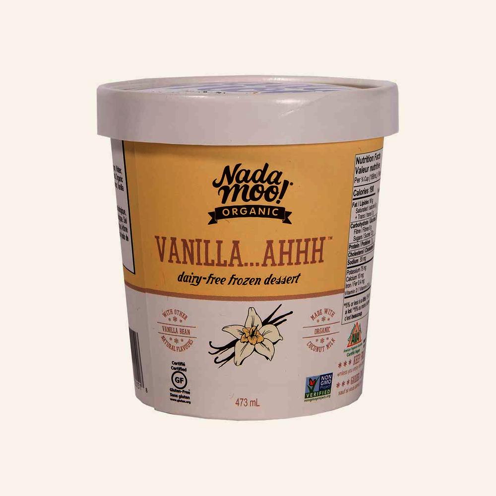 Nada Moo! Organic Dairy-Free Frozen Dessert Vanilla...Ahhh