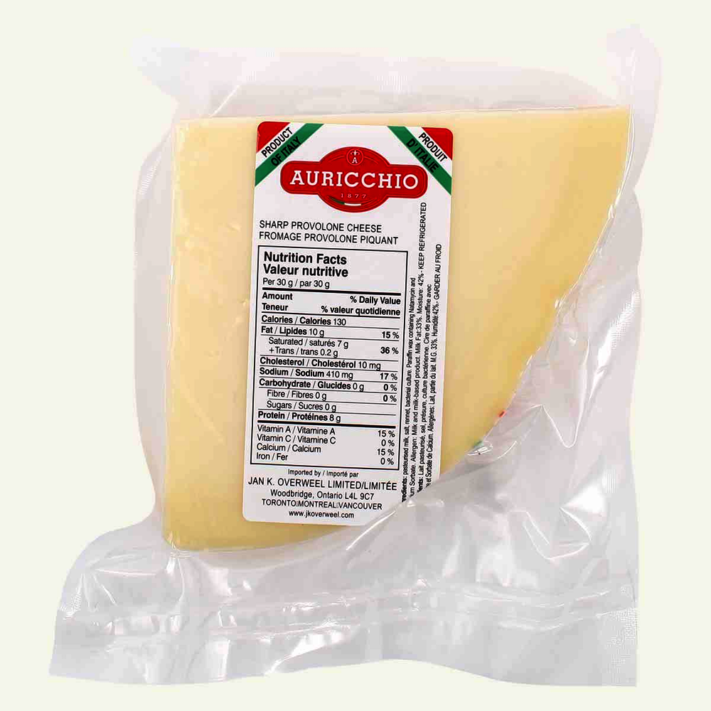 Imported Strong Aurrichio Provolone Cheese At Home Cornershop