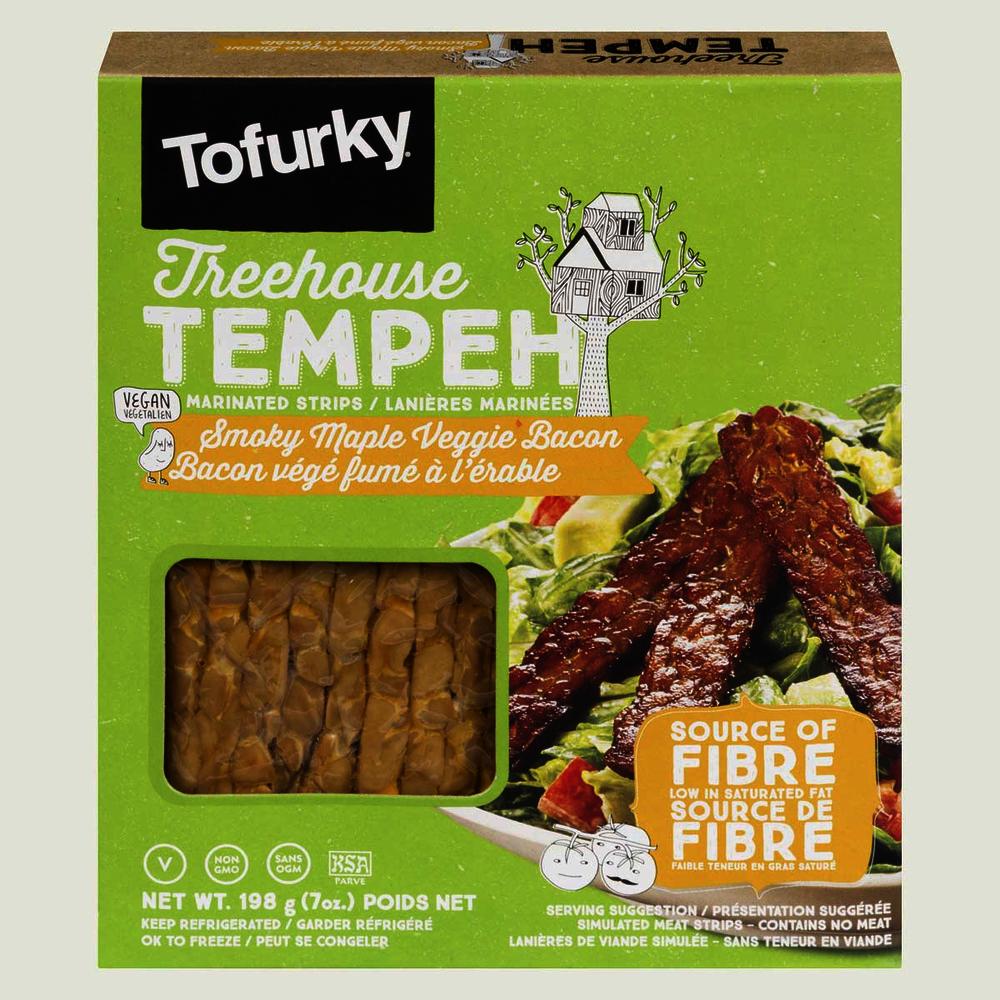 Tofurky Treehouse Tempeh Smoky Maple Veggie Bacon