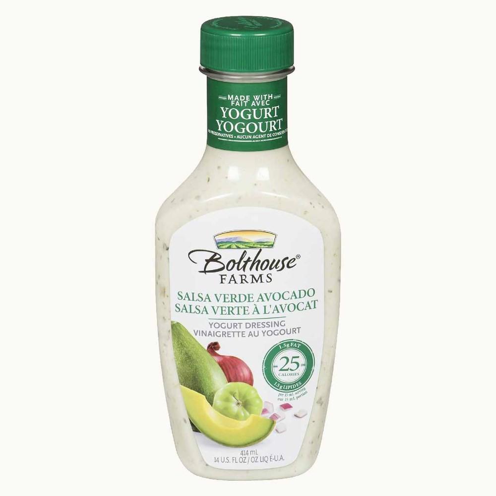 Bolthouse Salsa Verde Avocado Yogurt Dressing