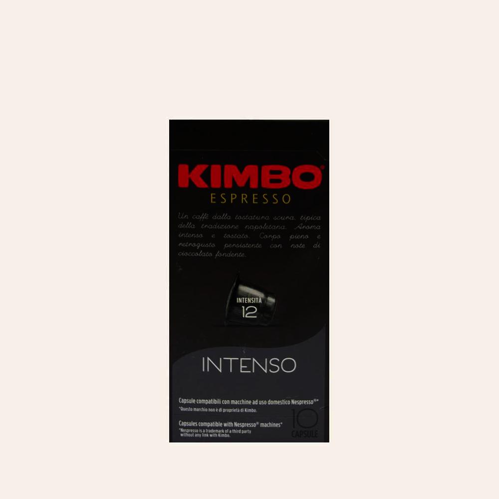 Kimbo Espresso Capsules Intenso Intensity 12