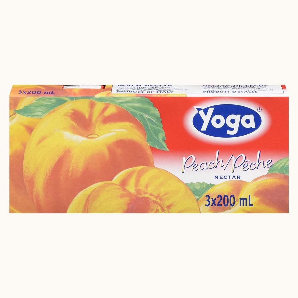 Yoga Peach Nectar in Tetra Pack