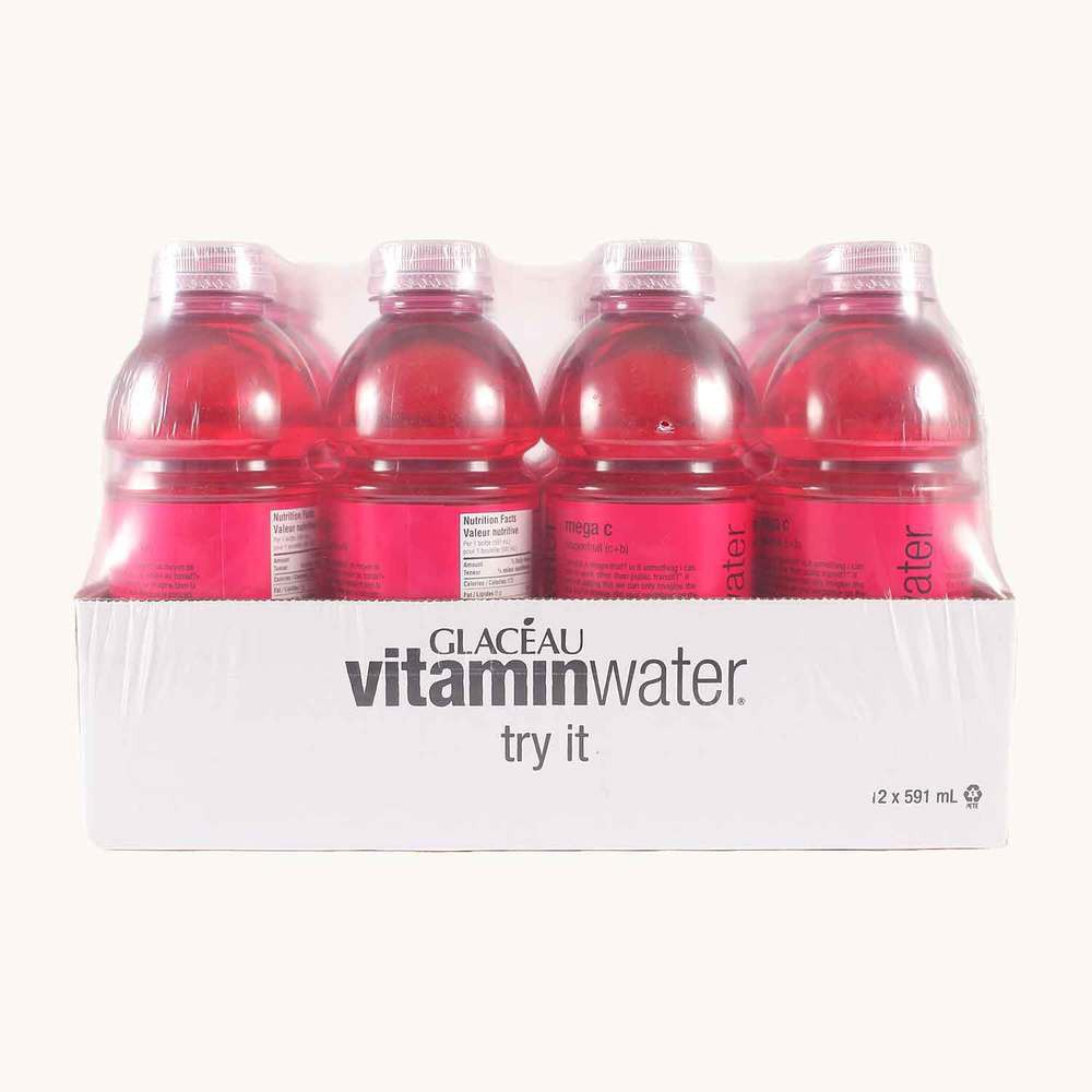 Glaceau Vitamin Water Mega C