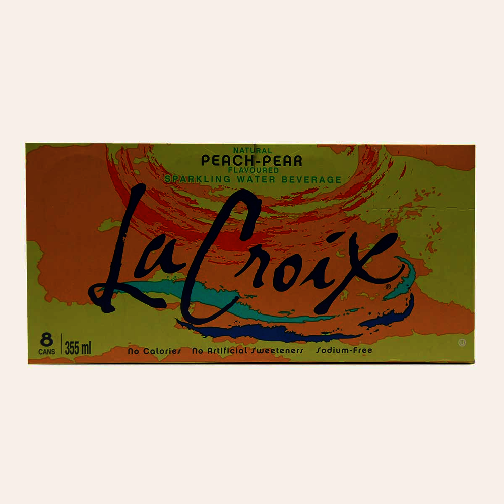 La Croix Sparkling Water Peach-Pear