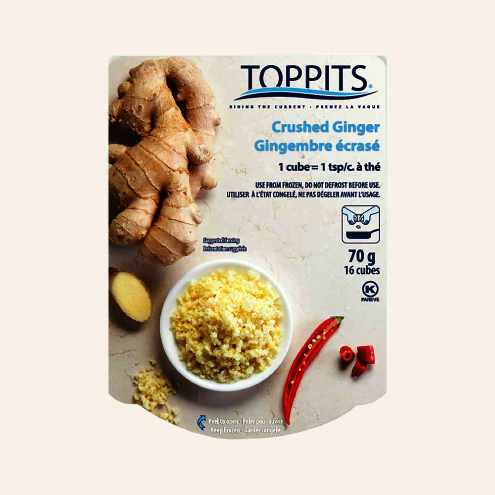 Toppits Crushed Ginger Cubes