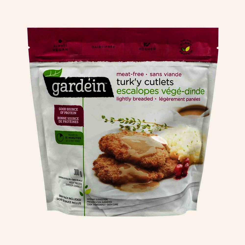Gardein Meatless Lightly Breaded Turk'y Cutlets