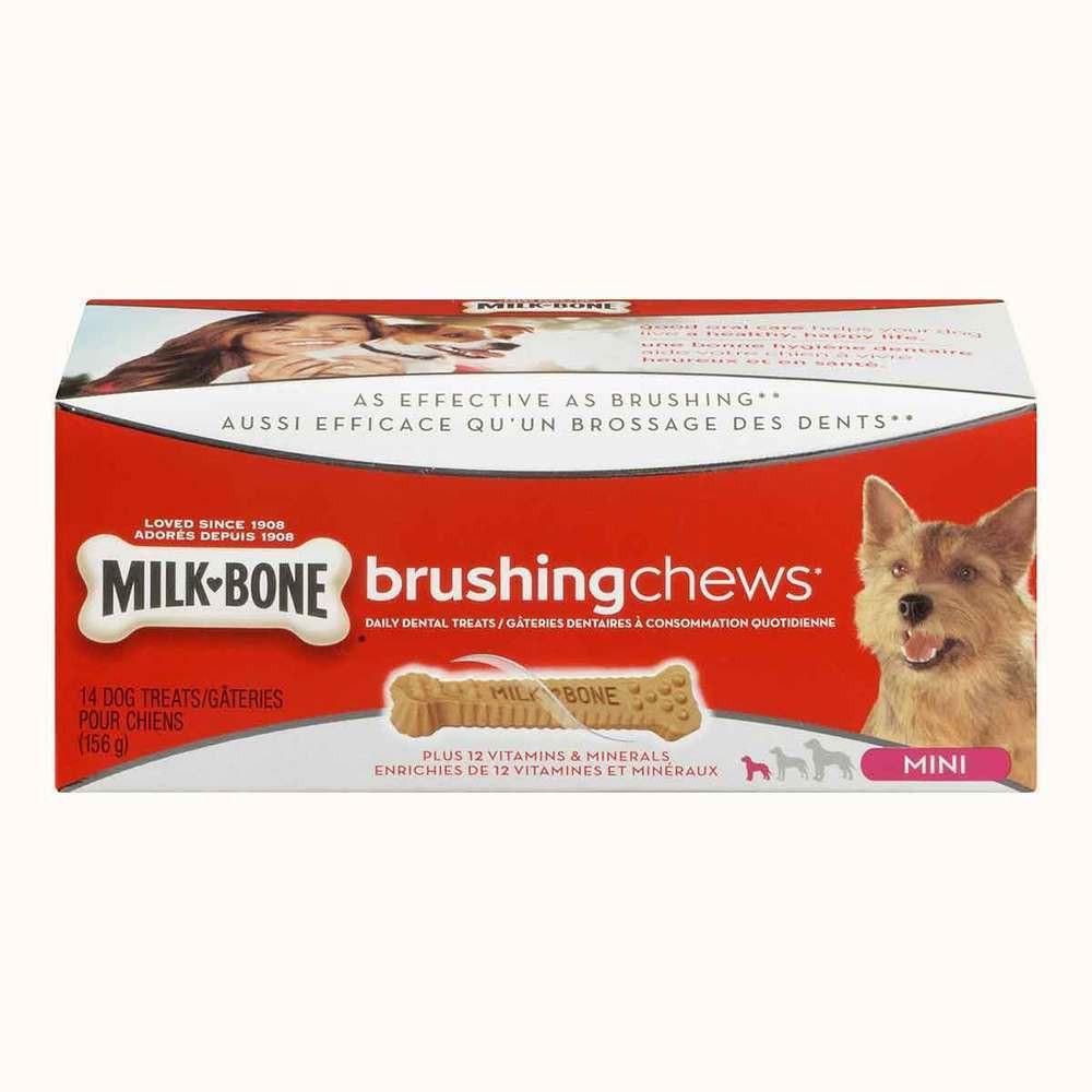 Milk Bone Dog Brushing Chews Mini's
