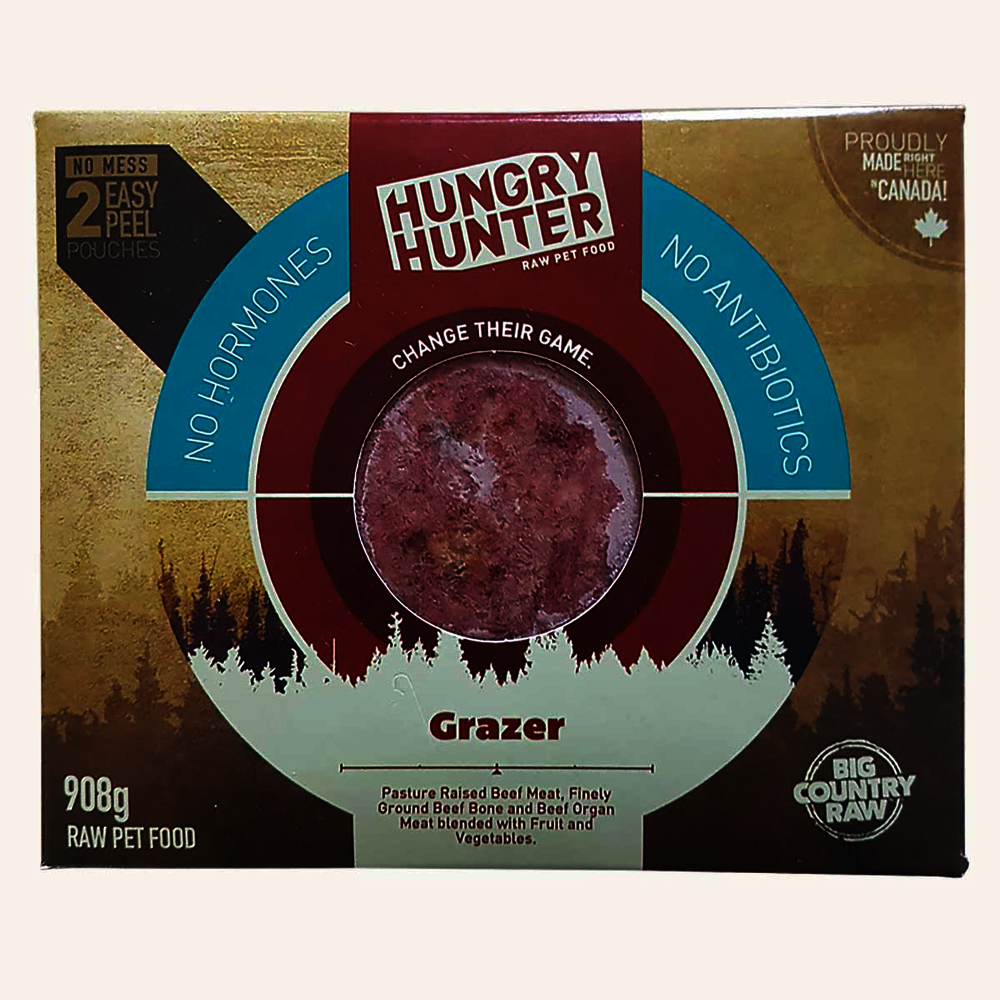Hungry Hunter Frozen Raw Pet Food Grazer