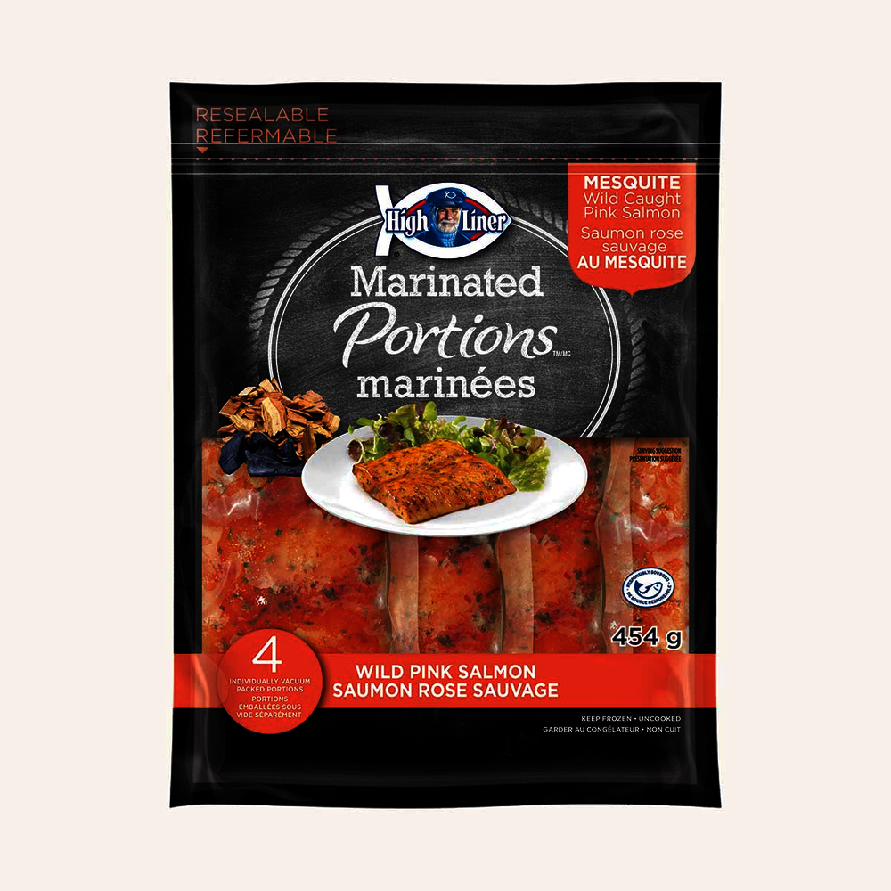 High Liner Marinated Wild Pink Salmon, Mesquite