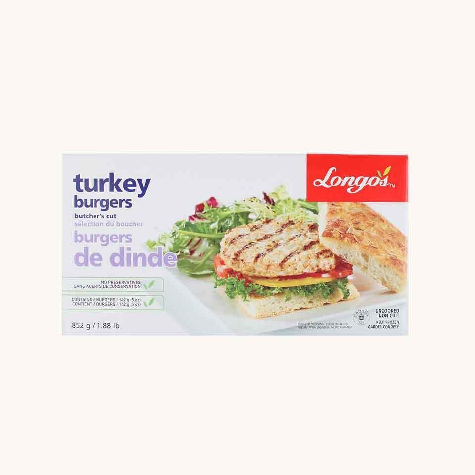 Longo's Turkey Burgers Butcher's Cut