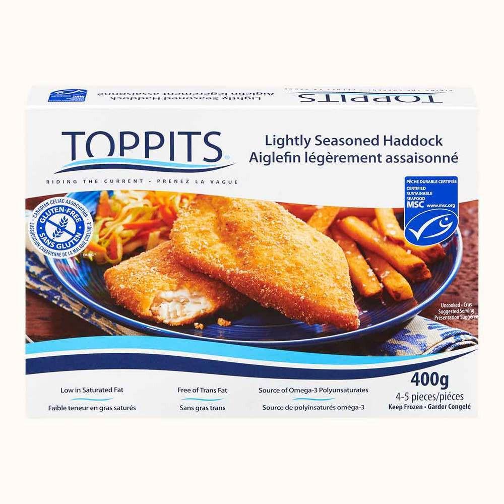 Toppits Gluten Free Seasoned Haddock