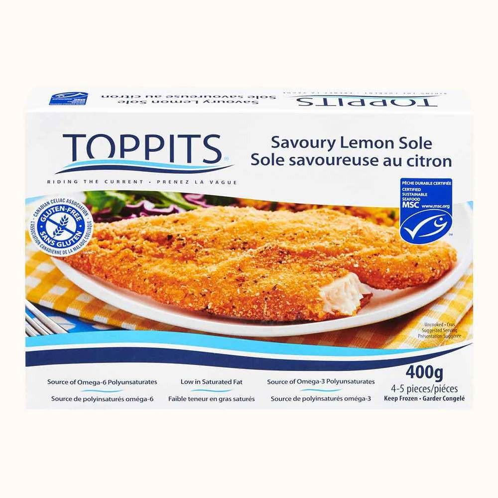Toppits Gluten Free Lemon Sole Fillet