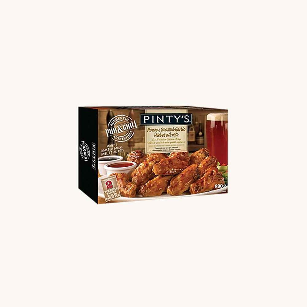 Pinty's Pub & Grill Honey & Roasted Garlic Chicken Wings