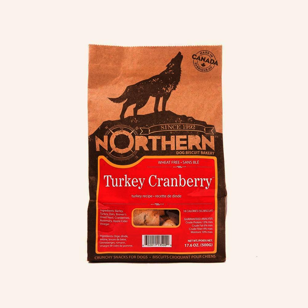 Northern Biscuit Wheat Free Turkey Cranberry Dog Treat