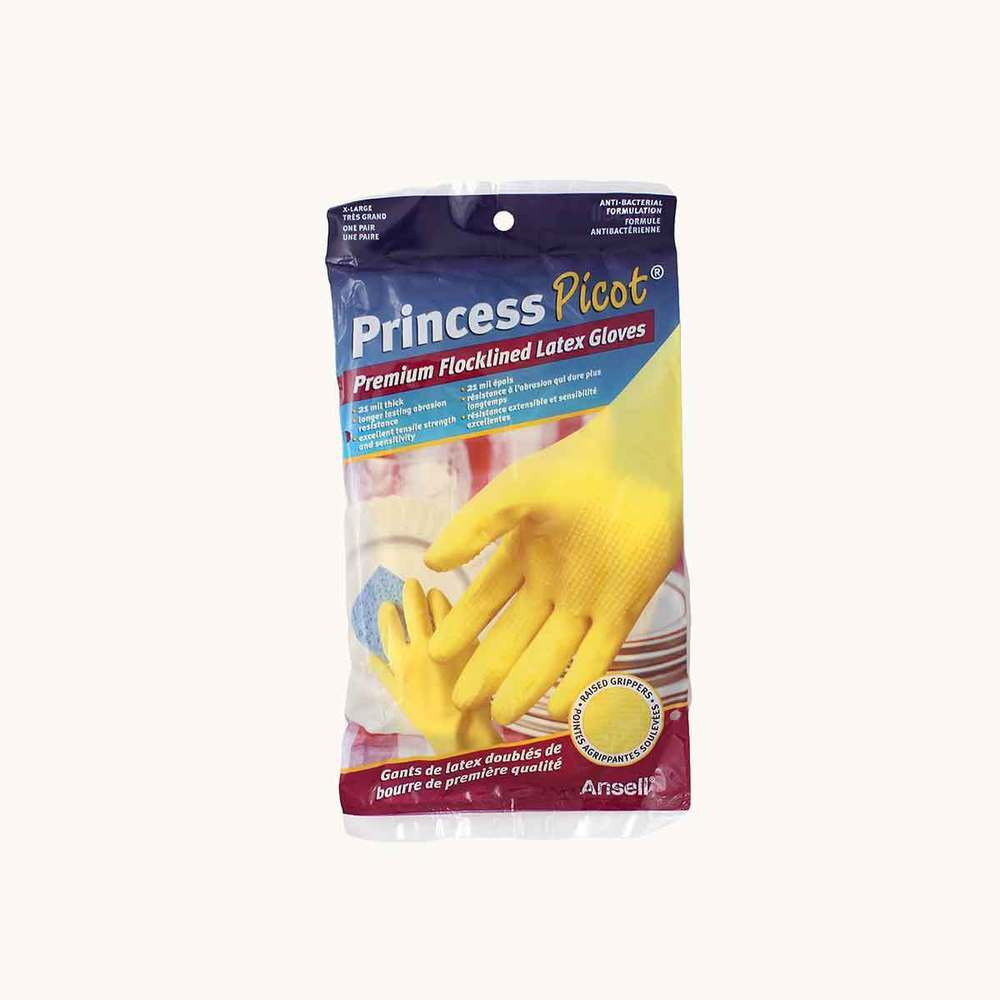 Princess Picot Premium Flocklined Latex Gloves X-Large