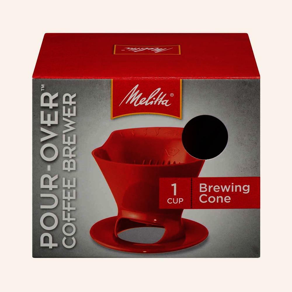Melitta Pour-Over Coffee Brewer Cone