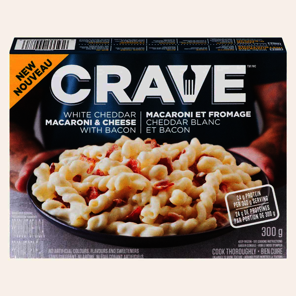 Crave White Cheddar Macaroni & Cheese with Bacon