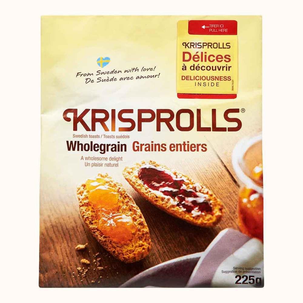 Krisprolls Wholegrain