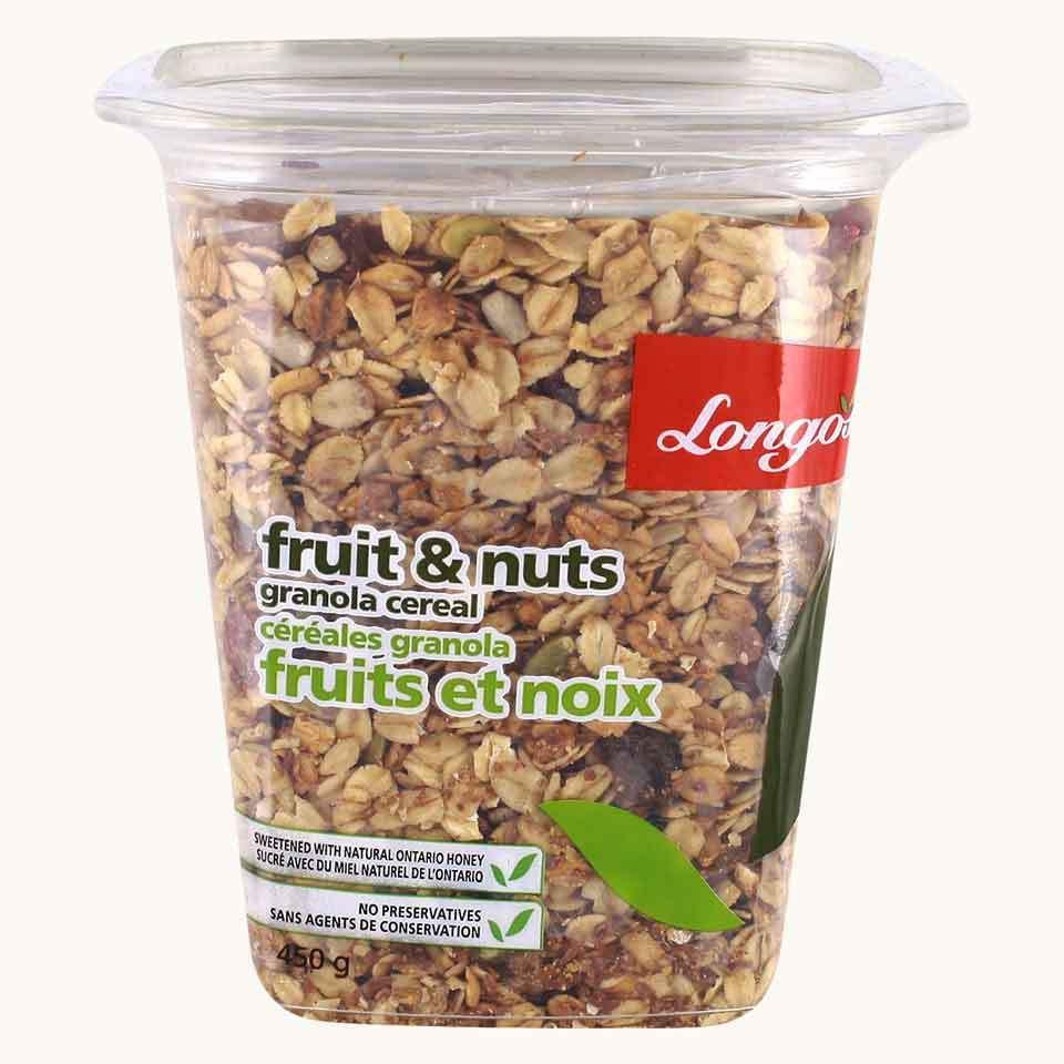 Longo's Granola Nuts & Fruit