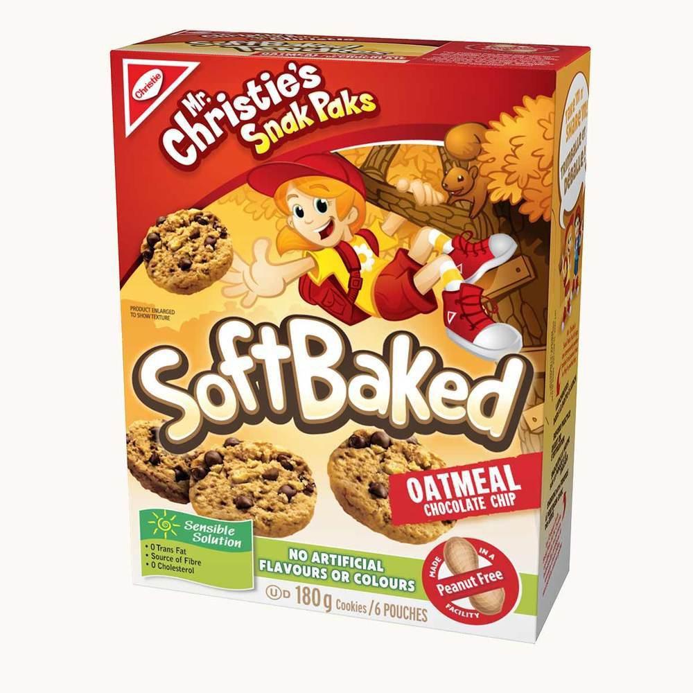 Christie Snak Paks Soft Baked Chocolate Chip Cookies
