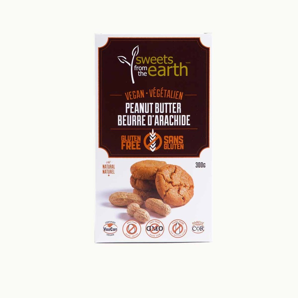 Sweets From The Earth Vegan Peanut Butter Cookies