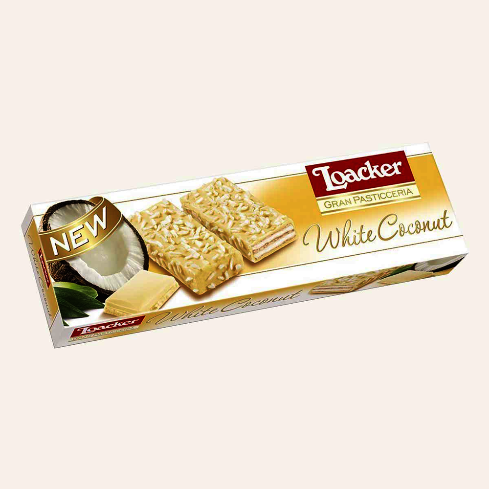 Loacker White Coconut Biscuits