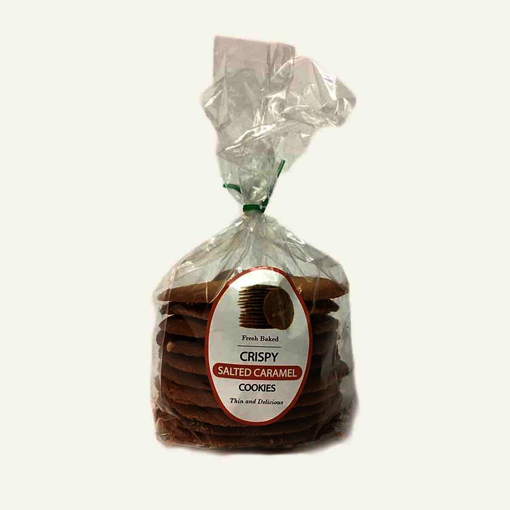 Longo's Fresh Baked Thin Crispy Salted Caramel Cookies