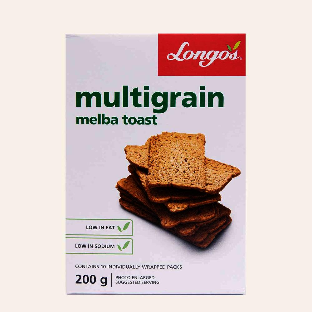 Longo's Multigrain Melba Toast