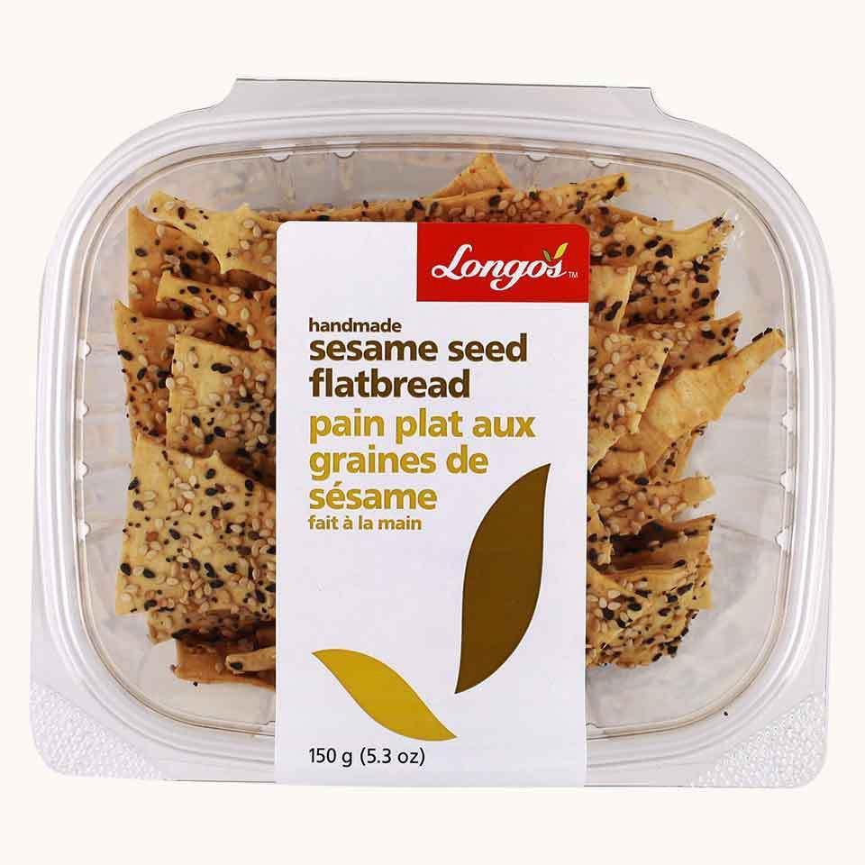 Longo's Flatbread Sesame Seed